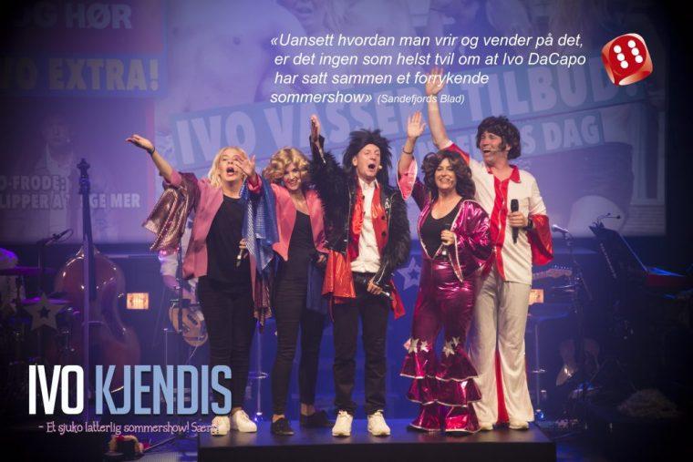 Ivo DaCapo fant hverandre i Kodal Ungdomslags teatermiljø og har senere spilt show for mer enn 155.000 mennesker.
