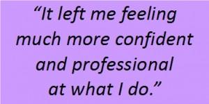 Charlotte Brennan Confident Purple