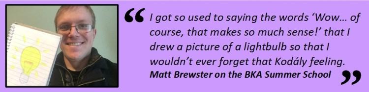 Matt Brewster Insert