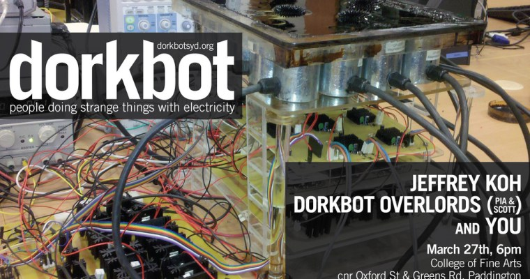 Dorkbot at COFA