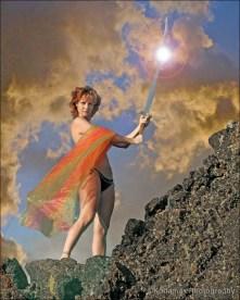 Michelle - warrior goddess 1