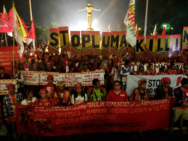 UP's Oblation opens its arms for the Lumad.