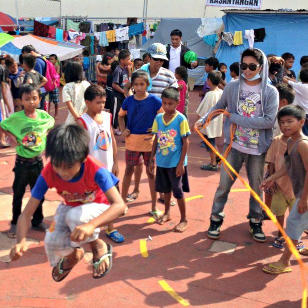 Zamboanga displaced children.