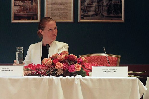 Royal Norwegian Government's Special Envoy to the Philippine Peace Process Elisabeth Slattum. (Photo by Paloma Polo)