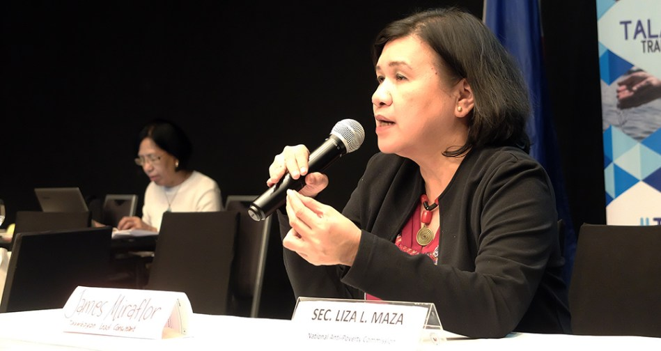 Maza Resigns Last Ndfp Nominated Member Leaves Duterte Cabinet