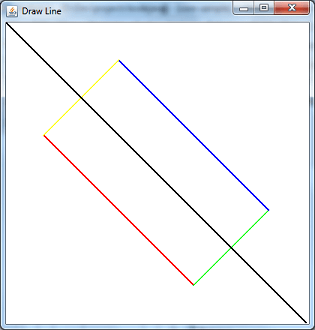 Draw Line Applet
