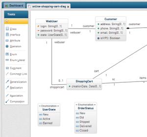 Class Diagram Online