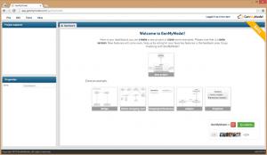 GenMyModel Dashboard