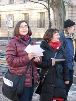 Nasze panie od informacji: Dorota Cygan i Urszula Ptak (fot. M. Saczyńska)