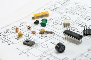 electronics-components-printed-circuit-board-diagram