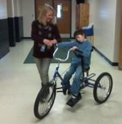 Riding a BIG trike