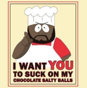 Chocolate Salty Balls logo