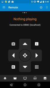 Kodi remote application