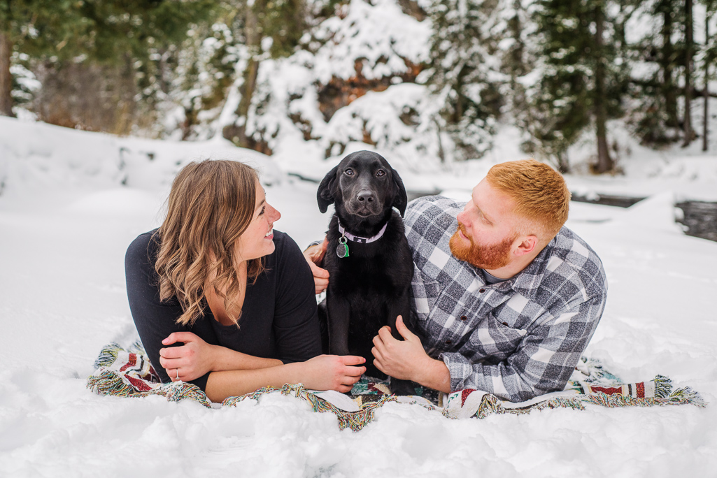 Holly and Gus : Couples photos in Bozeman, Montana : Montana Engagement Photographer