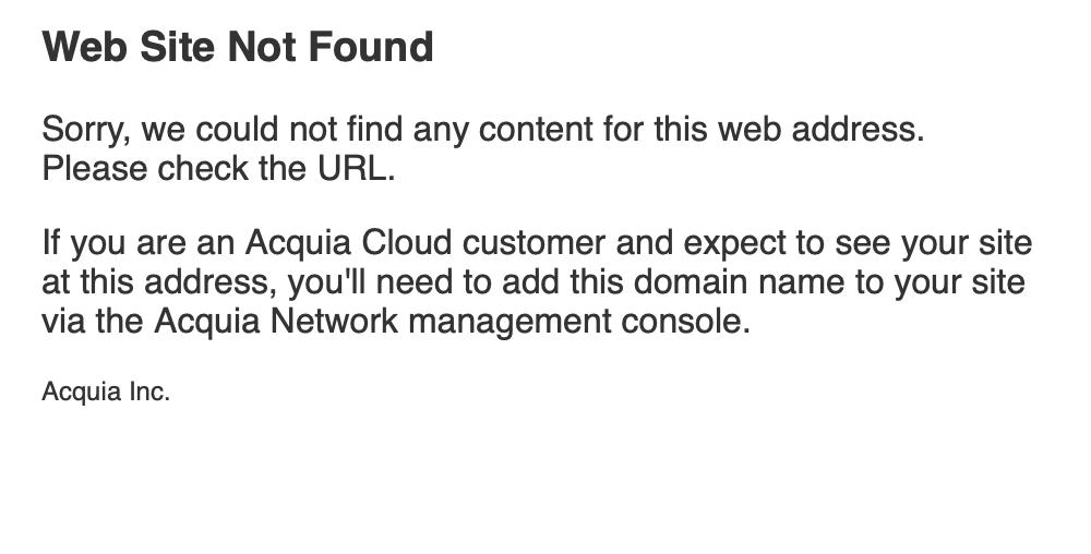 kodi website offline error message