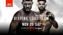 UFC Fight Night: Bisping vs Gastelum – NOV 25 SAT