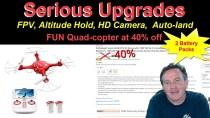 Syma X5UW Drone from DoDoeleph REVIEW