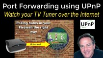 Sending TV signals to your Phone using UPnP – the easy way