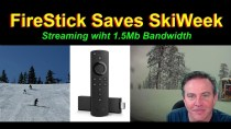 🔴FireStick Saves SKI Week – Netflix Helped too