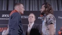 Todas as encaradas do Media Day do UFC Londres