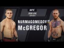 UFC GAME: ESPECIAL CONOR MCGREGOR