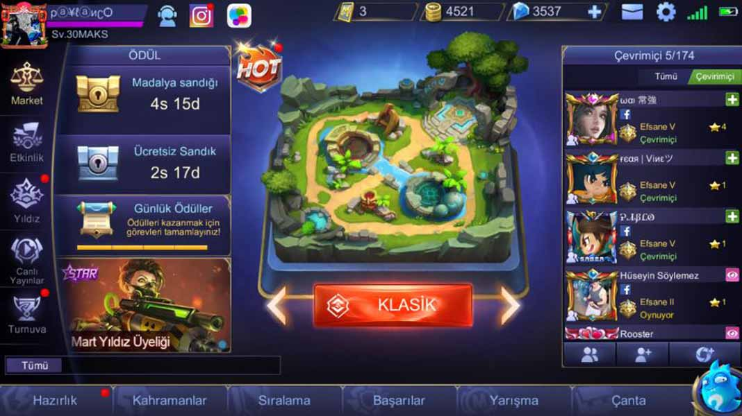 Mobile Legends Hile