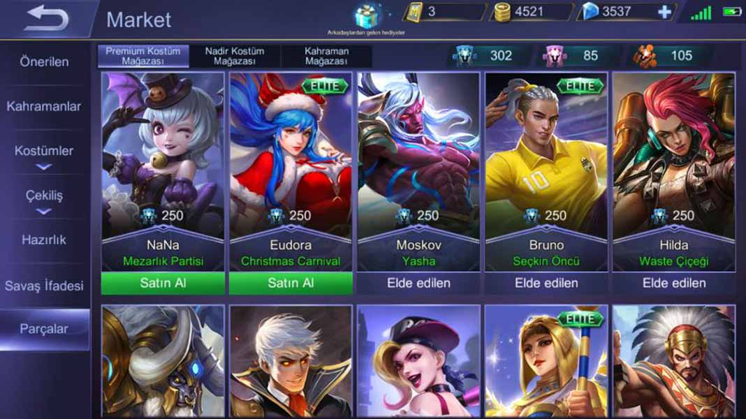 mobile legends bang bang hile