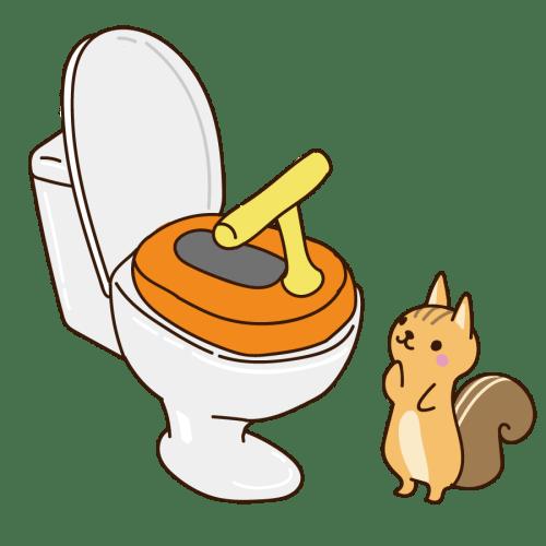トイレトレーニング 補助便座 かわいい イラスト フリー 無料
