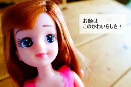 エリーちゃん(お人形)のレビュー ピンクの顔