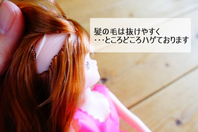 エリーちゃん(お人形)のレビュー 髪の毛