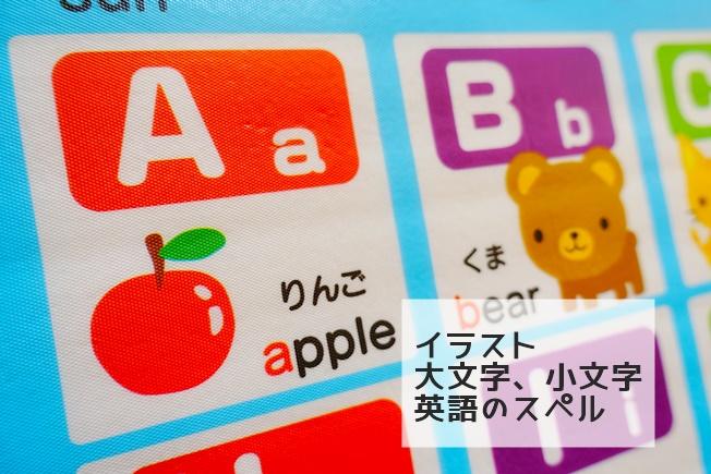 おふろポスター(ひらがな、アルファベット) アルファベットバージョンのアップ