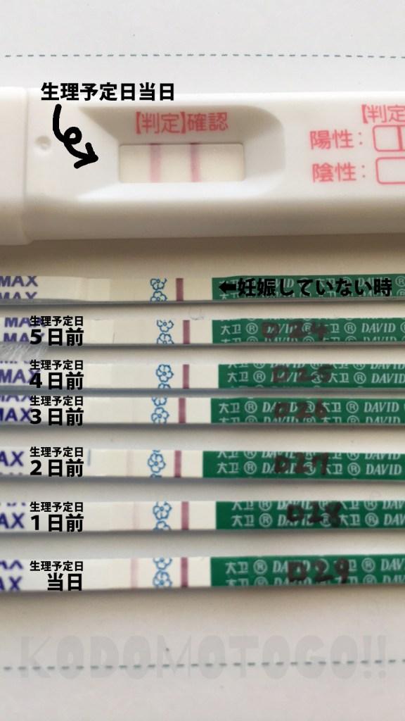 妊娠検査薬 フライング 5日前