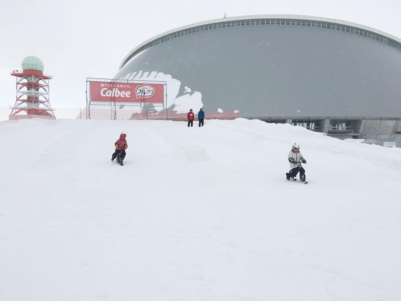 さっぽろ雪祭りつどーむ会場