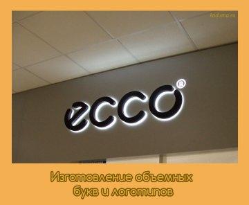 Изготовление объемных букв и логотипов