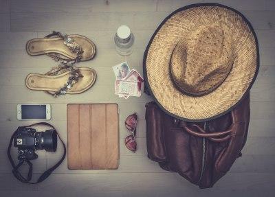 4泊5日子連れバンコク旅行の持ち物、「手荷物バック」の中身
