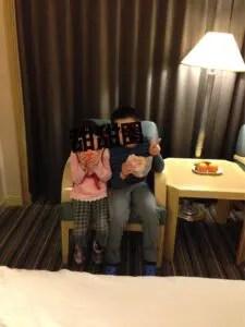 子連れでサントスホテル