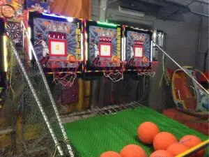 臨江街夜市のゲーム屋台