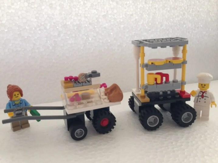 LEGO台湾夜市屋台