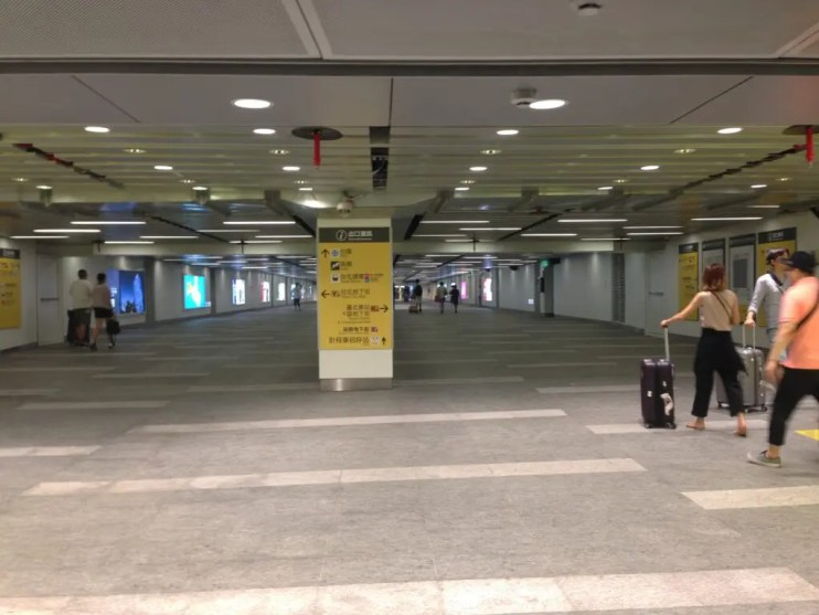 台北地下街桃園MRT台北駅
