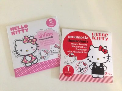 かわいい♡タイのコンビニで見つけたハロー・キティの絆創膏