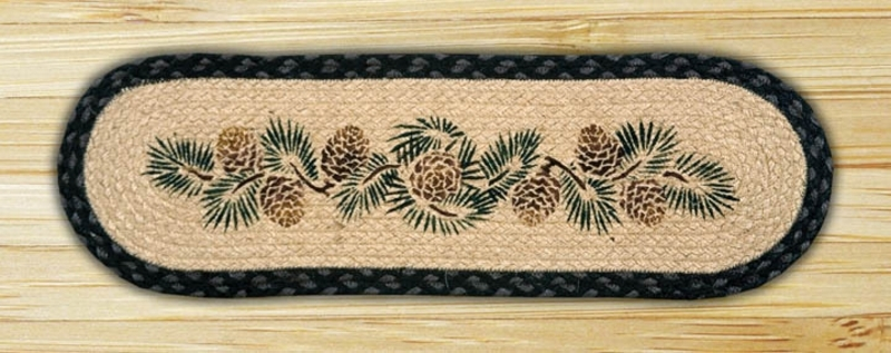 Earth Rugs Pinecone | Earth Rugs Stair Treads | Christmas Tree | Area Rugs | Rectangle Stair | Jute Fiber | Oval