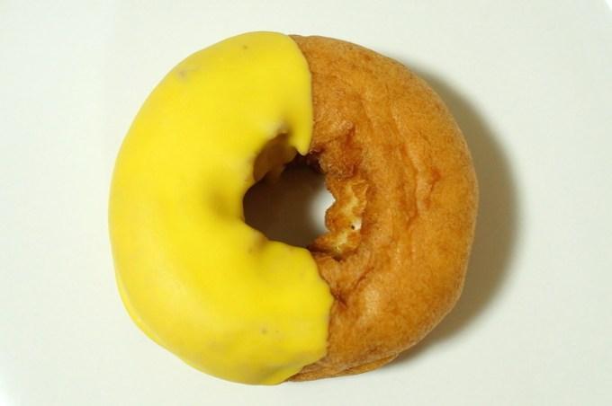 ポムドーナツ チョコ&バナナホイップ