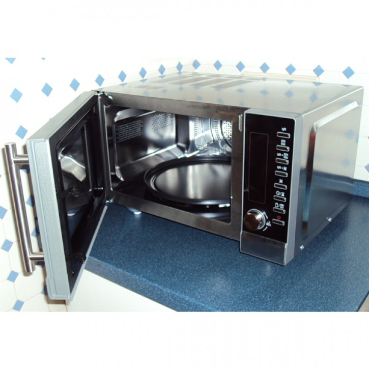 microwave housing stainless steel interior 23 l power 800 w