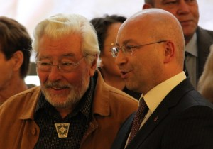 Norbert Burger und Mustafa Basal