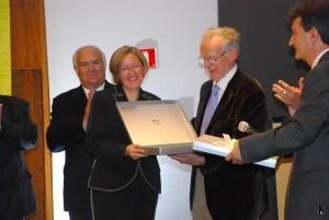 Übergabe Premi Josep M. Batista i Roca