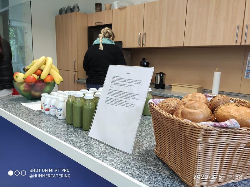 Office Catering Mittagstisch, Frühstück