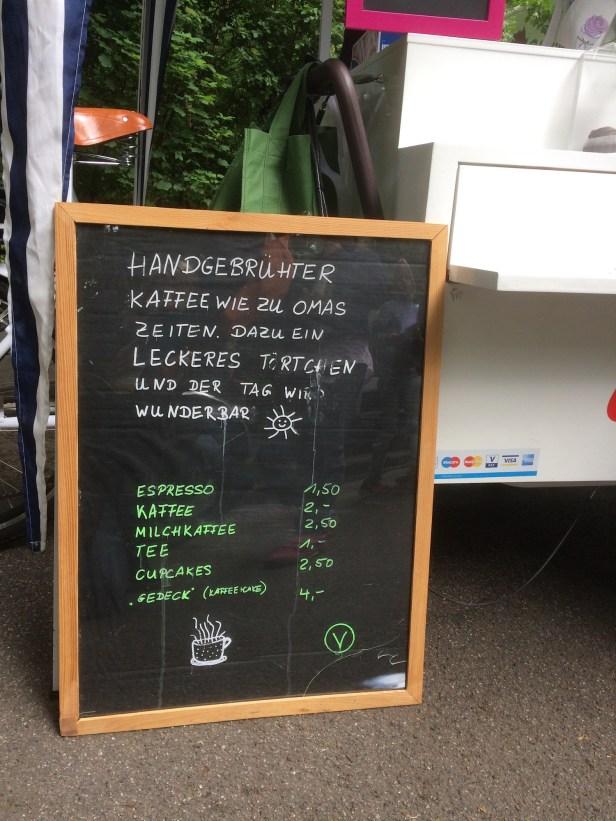 Juni 2017 Stadtwald Kaffee