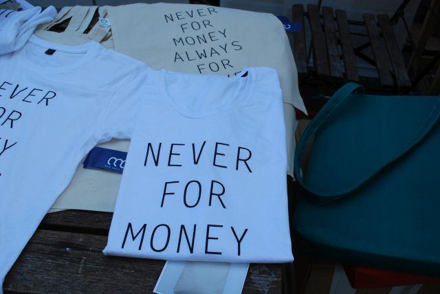 Never for money allways for love!