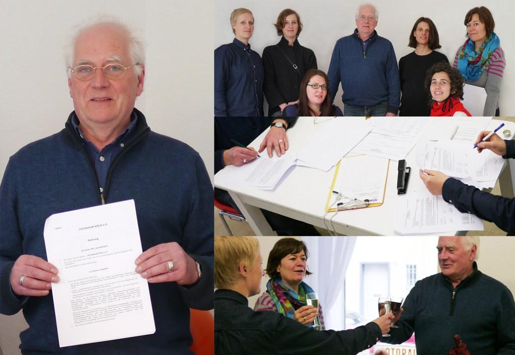 Vereinsgründung mit dem Kulturpaten Roland Neuburg