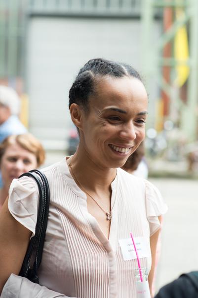 Schauspielerin Azize Flittner